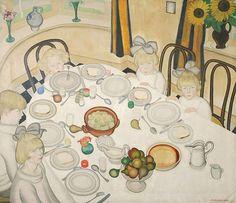 The Table Gustave Van de Woestijne (1881-1947).