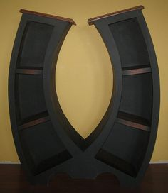 Symmetry Handmade 4FT Bookcase by WoodCurve on Etsy, $695.00