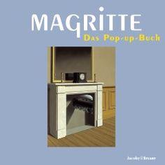 """Magritte: Das Pop-up-Buch - Traumbilder werden Wirklichkeit.  Dieses bewegliche Stehauf-Buch lässt 18 Bilder des Malers René Magritte mittels aufwändiger Falttechnik lebendig erscheinen, wie aus den Bildern herausgesprungen. Vor den realistischen Gemälden Magrittes kommen selbst pragmatische Menschen ins Träumen.  Sie schauen hin, sie schauen noch einmal hin und murmeln vielleicht: """"Das gibt's doch gar nicht!"""". Sie sehen einen Mann, der in einen Spiegel schaut. Aber ni"""