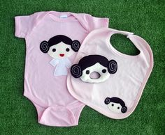 Love this etsy store! We own a Princess Leia onesie like this. :)