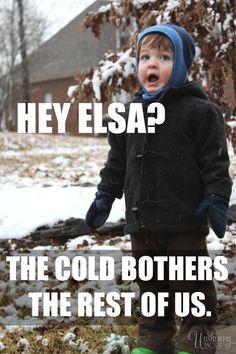 Please end, winter. #frozen