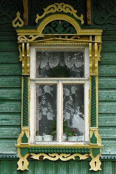 Russian wooden art.