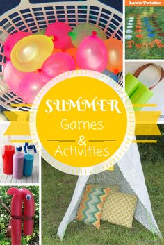 Summer Games and Activities