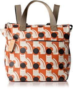 Orla Kiely Poppy Cat Print Small Backpack *** To view further, visit now : Backpacking backpack