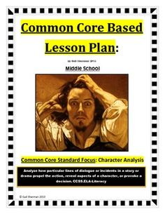 This Common Core Based Lesson Plan Contains: Lesson Plan, Warm-up, Passages, Questions, Vocabulary Activity, Sample Anchor Chart, Exit Slip and Answer Keys.