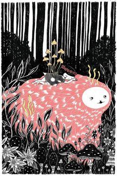 amazing illustration by aya kakeda