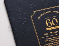 Crocodile 60th Anniversary A/W Catalog by Ken Lo, via Behance