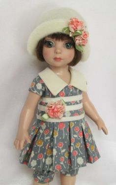 PATSYS-PRETTY-BLOSSOMS-FOR-10-ANN-ESTELLE-ETC-MADE-BY-SSDESIGNS, SOLD 1/4/14 BIN $42.99