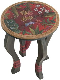 Great Table... Perhaps with a compass rose on it instead of flowers?