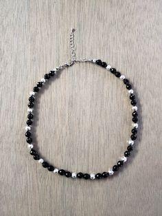 01c134cc76cd Onyx   Hematite Choker Necklace Trendy Choker Necklace Collares  Gargantilla