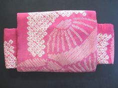 """Vintage Japanese Silk Nagoya Obi Belt for Kimonos Display """"Shibori Temari"""" by kyotokimono on Etsy https://www.etsy.com/listing/188069146/vintage-japanese-silk-nagoya-obi-belt"""