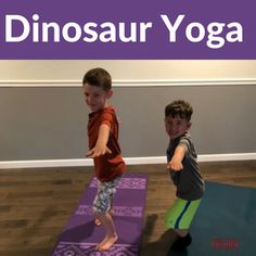 Have a dinosaur-loving kid? We've included a fun and engaging Dinosaur Yoga Lesson Plan that includes warmup exercises, intention setting ideas and easy and fun yoga poses for your children. Dig for dino fossils, roar like a T-Rex and explode like a volcano. Fun, active and engaging ideas to do at home or at school.