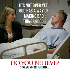 If you haven't seen Do You Believe in a while.. Watch it again! So inspiring..