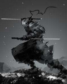 dual blade swordsman, Benedick Bana on ArtStation at http://www.artstation.com/artwork/dual-blade-swordsman