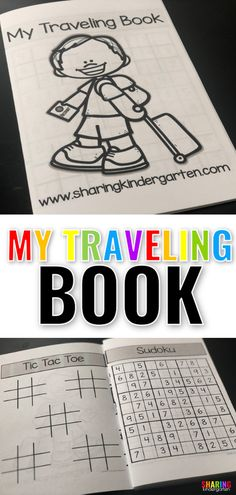 Free Travel Booklet for Kids