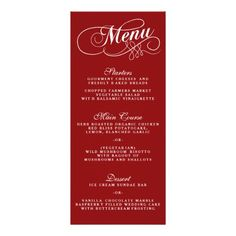 Chic Navy  Ivory Wedding Menu Template  Ivory Wedding Template
