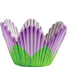 Lavender Petal Baking Cups 24ct - Party City