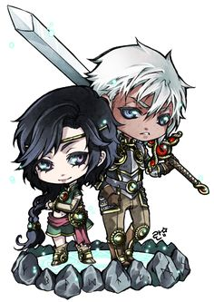::chibi for novemberbeetle:: by rann-poisoncage.deviantart.com on @deviantART