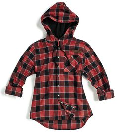Love this plaid hooded shirt from Sombrio... What's best is that you know it's a technical piece that can be worn mountain biking too!