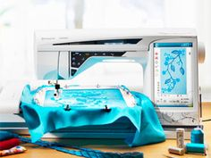 I want this machine soooooo bad! Embroidery Software, Embroidery Designs, Machine Quilting, Machine Embroidery, Sewing Machine Brands, Image House, Vikings, Baby Car Seats, Diaper Bag