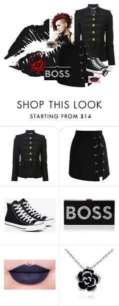 """""""Untitled #262"""" by child-of-light-and-darkness ❤ liked on Polyvore featuring Emilio Pucci, Chicwish, Converse, Milly and Jeffree Star"""