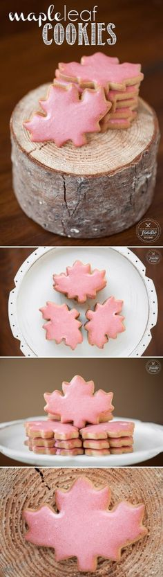 You won't find a tastier treat this Fall than these mouth watering Maple Leaf Cookies made with maple sugar and pure maple syrup.