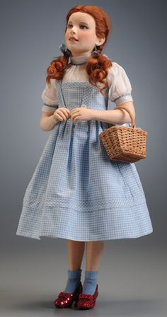 Dorothy by R. John Wright Dolls. An amazing likeness of Judy Garland.