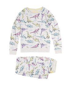 Dinosaur Print Stay Soft Pyjamas (6-16 Years)