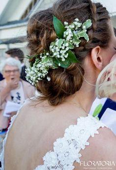 gipsowa wianek do ślubu dla panny młodej