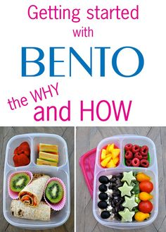 Getting started with BENTO - the why and how