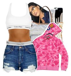 """""""All I wanna do is smoke that broccoli """" by mskaylamosley ❤ liked on Polyvore featuring Bobbi Brown Cosmetics, Louis Vuitton, Puma, A BATHING APE, Calvin Klein, Topshop and Calvin Klein Underwear"""