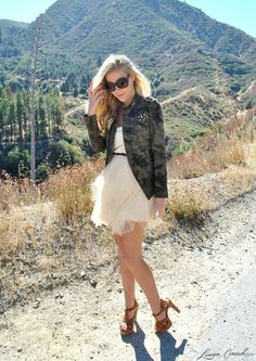 Trend Report: Military Madness- An Altar'd State dress featured on Lauren Conrad's blog