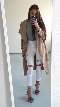 This outfit is perfect for a night out!