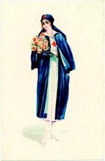 Vintage nurse postcards! | Scrubs – The Leading Lifestyle Nursing Magazine Featuring Inspirational and Informational Nursing Articles