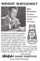 Adolph's Sugar Substitute 1959 Ad via Old Magazines, Vintage Magazines, Vintage Ads, Bean And Bacon Soup, Sugar Substitute, Old Ads, Magazine Ads, Creamed Mushrooms, Read More