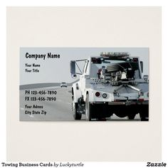 Tow truck business card tow truck business cards pinterest tow towing business cards colourmoves