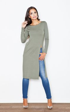We're lusting over this tunic here at the SF HQ! Great to pair with anything; jeans, shorts, heels, converse, you name it, you will look uber trendy!