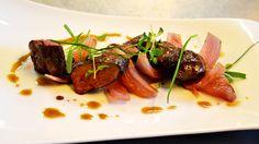 Rype med gresskar. Steak, Food, Essen, Steaks, Meals, Yemek, Eten