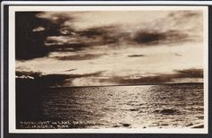 Alexandria-MN-Lake Darling-Moonlight-Real Photo Postcard | eBay