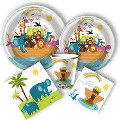 Whimsical Ark Party Supplies, Noah's Ark Party Supplies