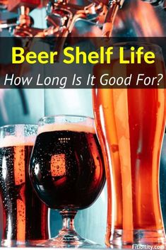 Does Beer Go Bad and Expire? How to Tell For Sure #beer #alcohol #Fitibility Beer Supplies, Food Shelf Life, Beer Cellar, Brown Bottles, Local Brewery, Alcohol Content, Beer Tasting, Dark Places, To Tell