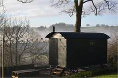 @thehuteyam  Stay in a Plankbridge hut in The Peak District