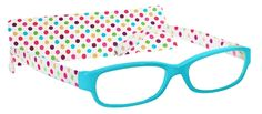 Peepers Candy Shop Reading Glasses Baby Blue - PeeperSpecs.com