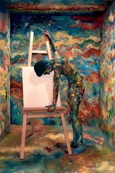 I Cant Paint by Aarti Shinde