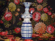 Vintage Gzhel White & Blue Porcelain by VintageArtAndCraft on Etsy
