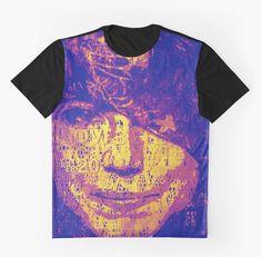 #MurielCerf #Shirt #Graphic #unisex #fashion #RootCat #purple #rain #roman