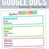 Designing Beautiful Google Docs - Ladybug's Teacher Files