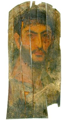 Mummy Portrait UC33971 -The Petrie Museum of Egyptian Archaeology, London.
