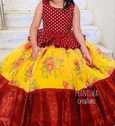 Kids Party Wear Dresses, Party Wear Indian Dresses, Kids Dress Wear, Kids Gown, Dresses Kids Girl, Girls Frock Design, Long Dress Design, Baby Dress Design, Kids Frocks Design