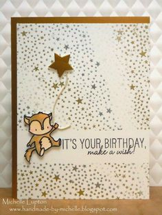 Handmade by Michelle: it's your birthday | Online Card Class CAS 4: Day 1